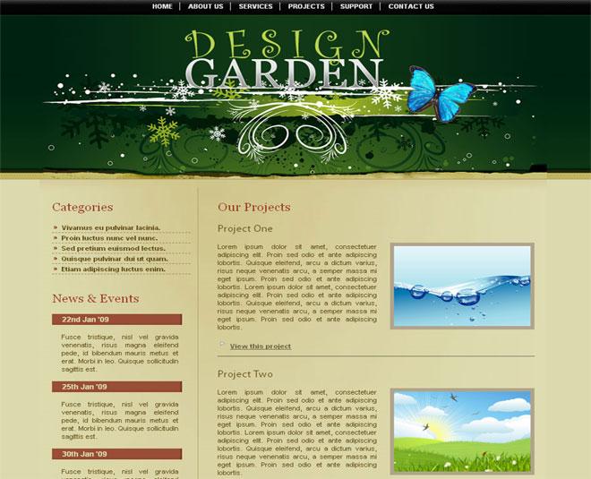 Design Garden » Freelance Web Designer.